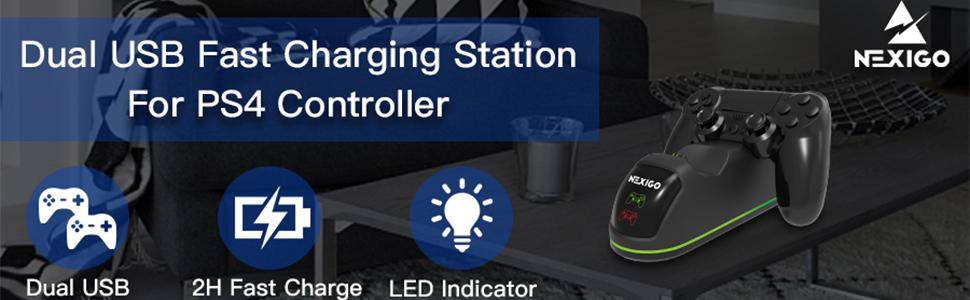 nexigo ps4charging