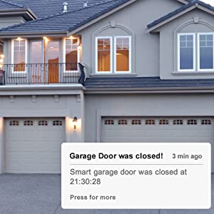 Amazon Com Smart Wi Fi Garage Door Opener Compatible With Apple Homekit Siri Alexa Google Assistant No Hub Needed Wireless Remote Control Electronics