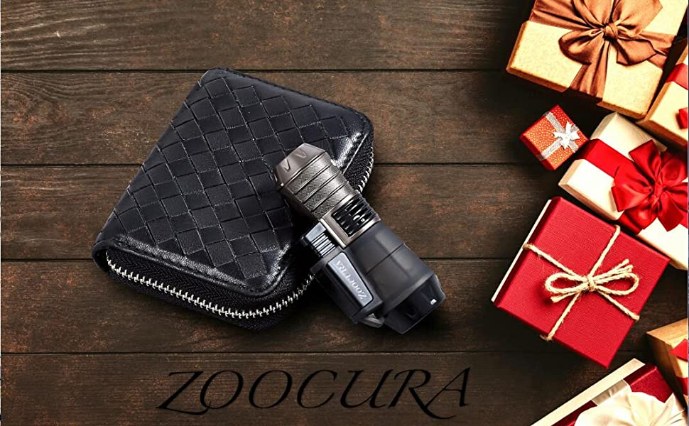 zoocura torch lighter refillable windproof