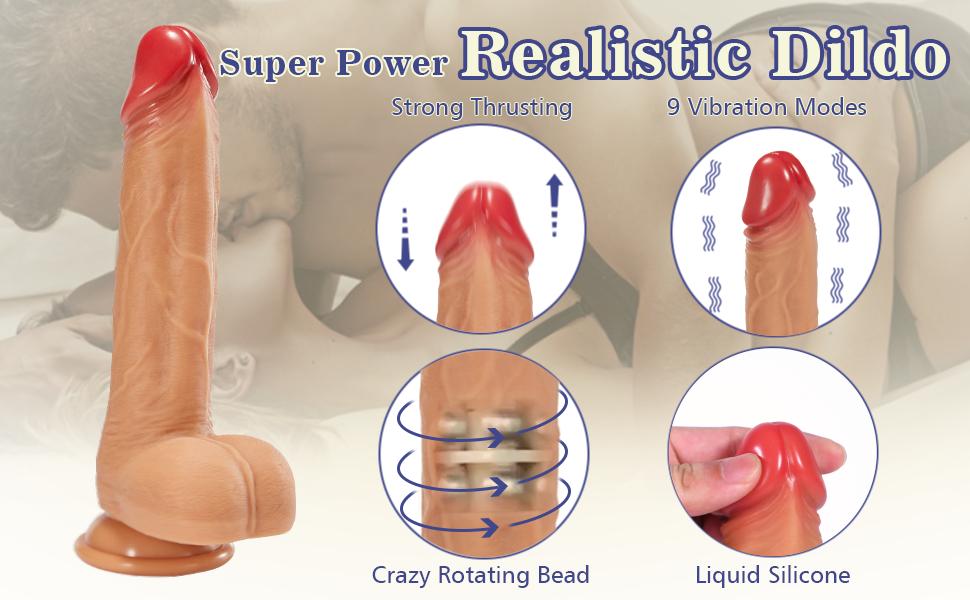 4 in 1 realistic dildo