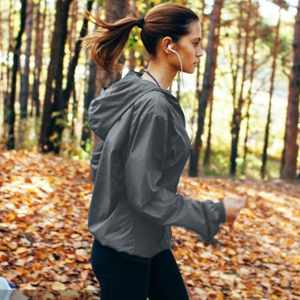 women running jacket