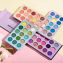 60 Colors Eyeshadow Palette