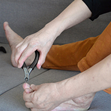 podiatrist toenail clippers