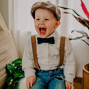 Kids and Baby Adjustable Toddler Suspenders
