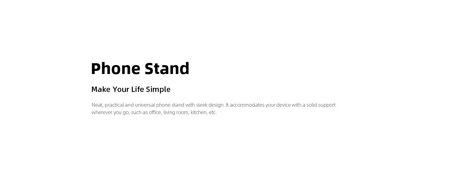 phone stand