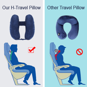 inflatable neck pillow travel