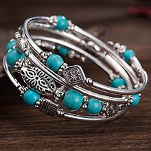 bangle bead bracelet