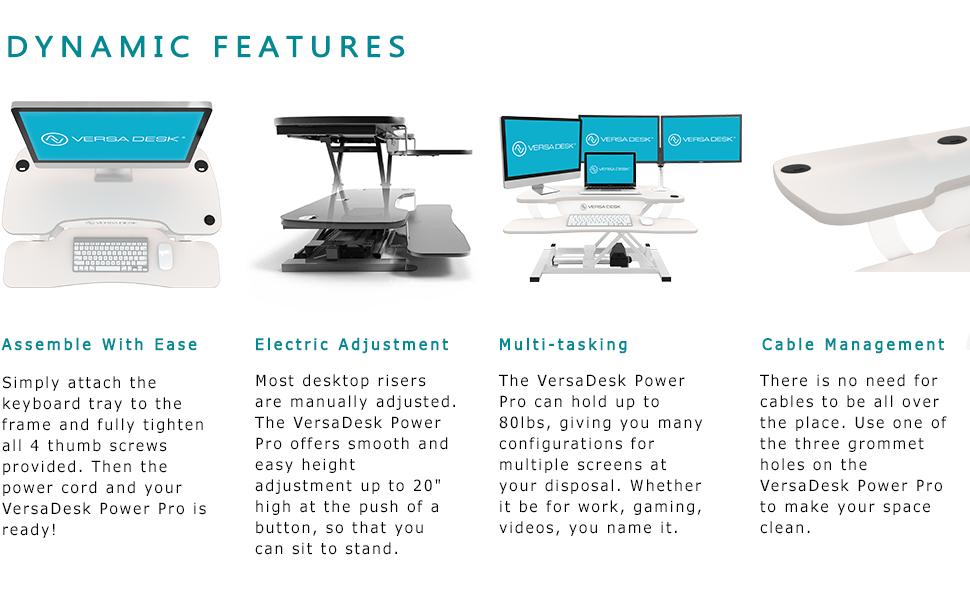 versadesk, standing desk, standing desk converter, desk riser, electric desk riser