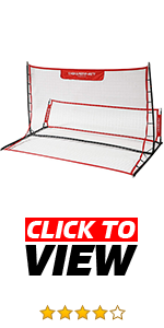 Powernet rebounder for volleys, passing, first touch and trapping. Team or solo soccer training.