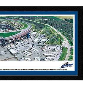 Chicagoland Speedway with select frame