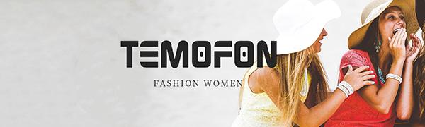 Fashion Women TEMOFON Brand
