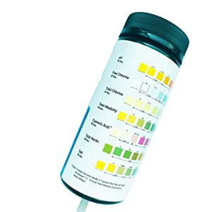 pool test strips 7 way pool test strips 7 6 way pool test strips for pool