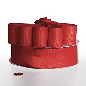 Solid Colored Grosgrain Ribbon
