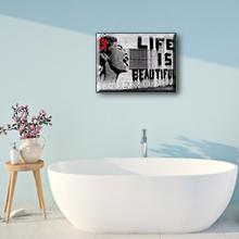 waterdicht schilderij voor badkamer decor