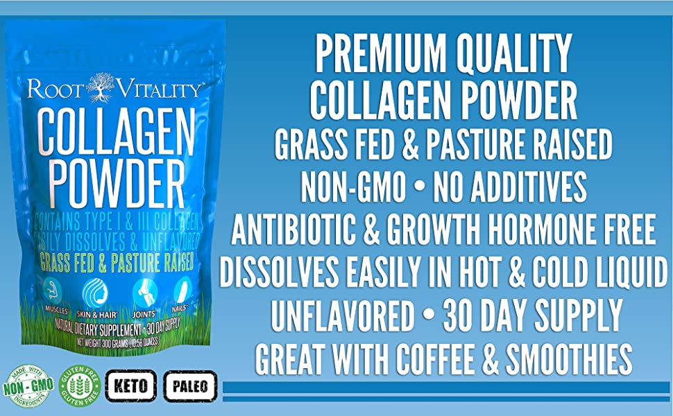 collagen peptides, collagen peptides powder, collagen protein powder, collagen supplements, collagen