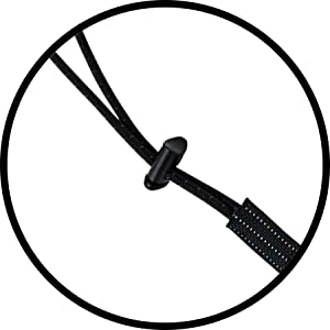 lock cord stopper spring action clip secure tool tough grip plastic pvc heavy duty cord tightener