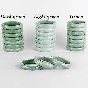 G001 jade bangle bracelet style