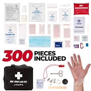 300 First Aid Kit Items Included