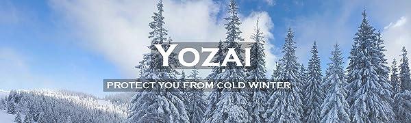 Yozai mens winter coat