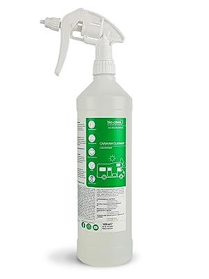 Bio Chem Caravan Und Wohnmobil Reiniger 1 Liter Konzentrat Für Wohnmobile Wohnwagen Vorzelte Regenstreifenentferner Auto