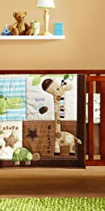 animal baby bedding
