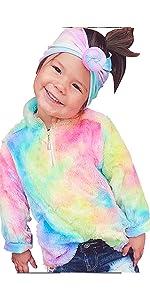 baby girls fleece jackets