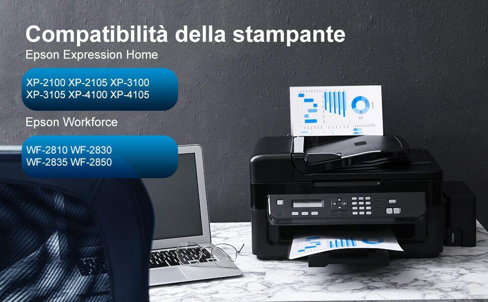 Epson Expression Home XP-3100 XP-4100 XP-2100 XP-2105 XP-3105 XP-4105, Epson  WF-2810 WF-2830
