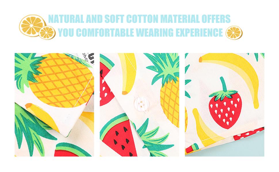 pineapple, lemon, fruit, sunflower shirt for boys. button up shirt boys, boys hawaiian shirt