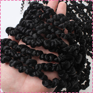 Save time and money crochet braiding hair for passion twist
