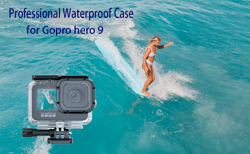 Gopro hero 9 waterproof case