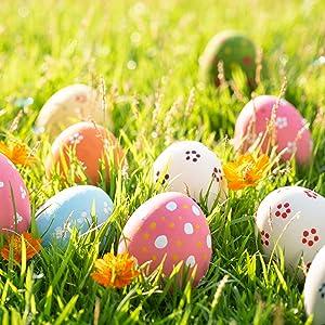Wooden Easter eggs Large easter eggs Wood blanks eggs Easter decorations Easter hen eggs Easter egg hunt Easter party decor Easter gift idea