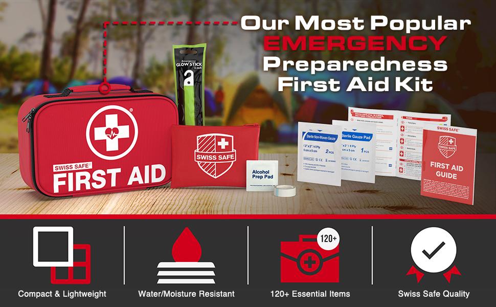 Emergency preparedness first aid kit