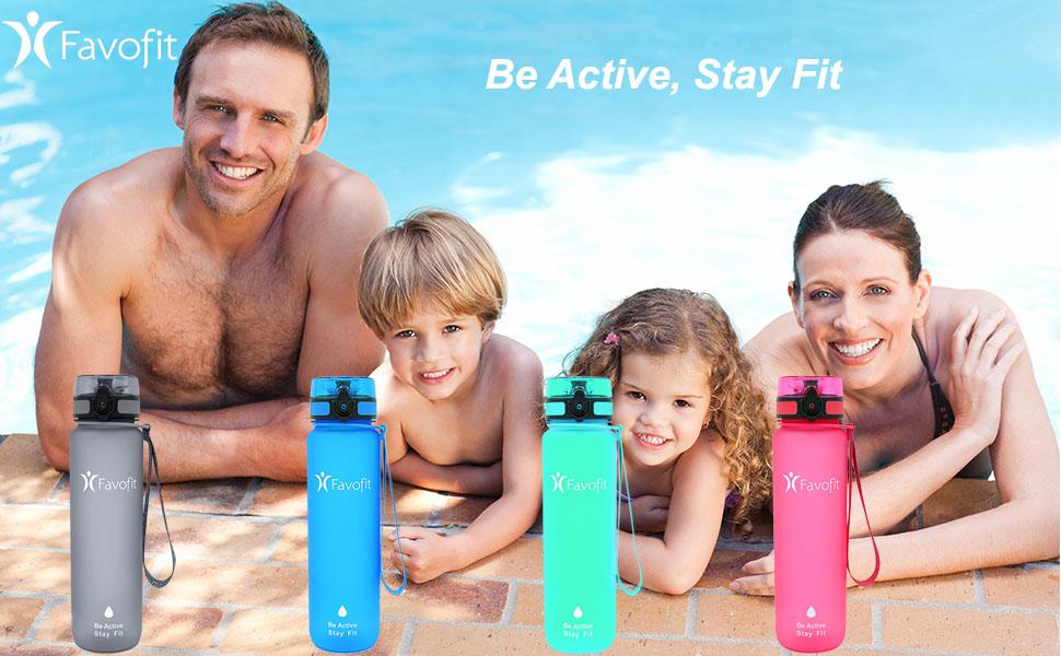 Premium Motivational Water Bottle