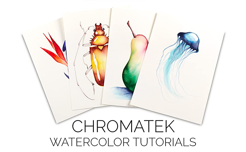 CHromatek watercolor tutorials