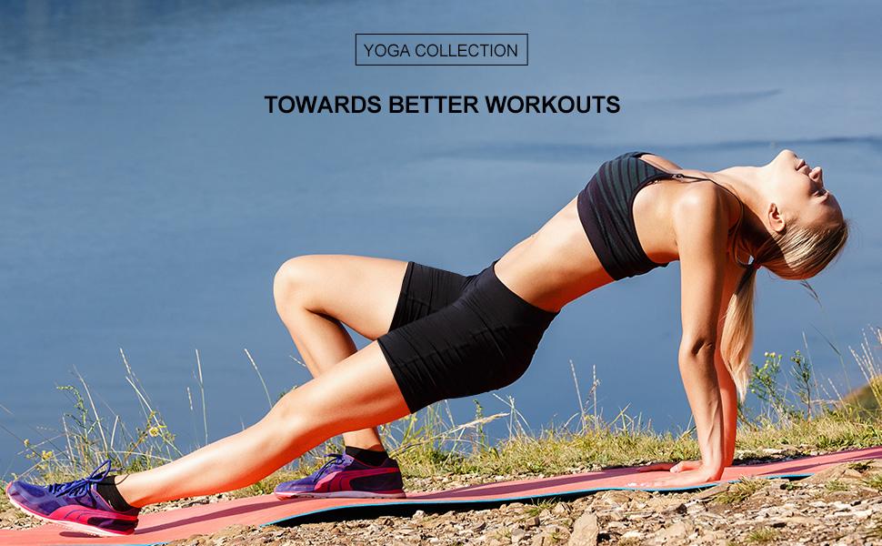 Yoga volleyball shorts compression