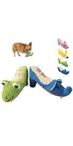 Squeaky Plush Dog Toys