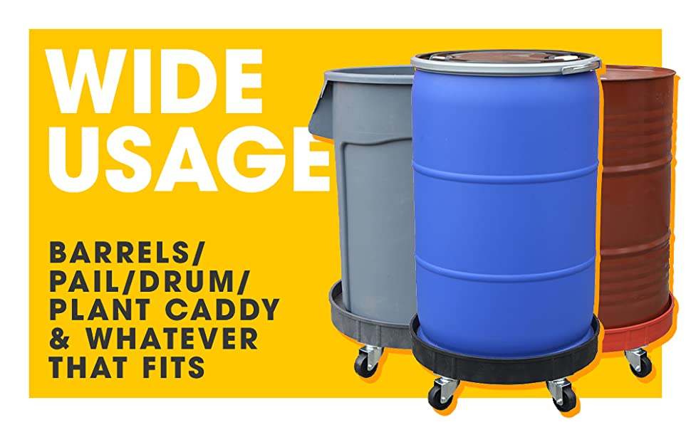 Wide usage for every drum
