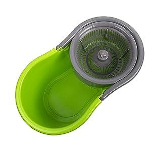 Spin bucket mechanism