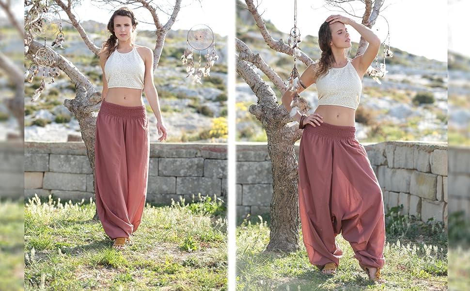 womens harem genie maternity hareem pants jumpsuit romper yoga summer clothing boho maxi casual
