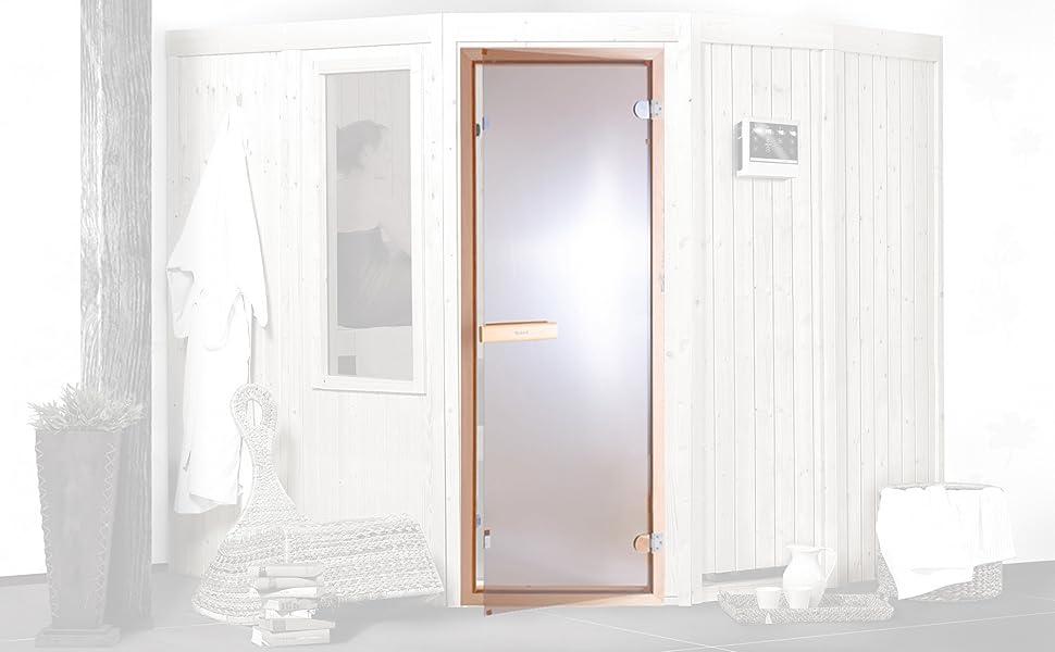 Saunatür Sauna Saunazubehör Saunabau
