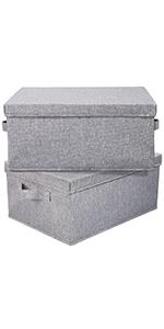 storage bins with lid