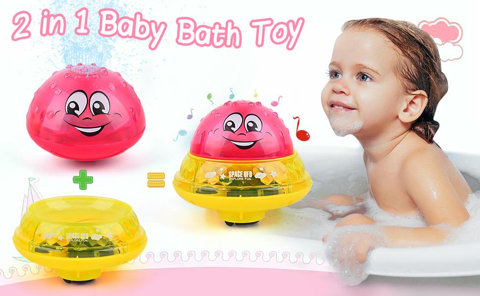 Baby Bath Water Spray Pool Toy