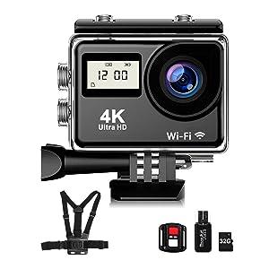 Upgrade 4K Action Camera
