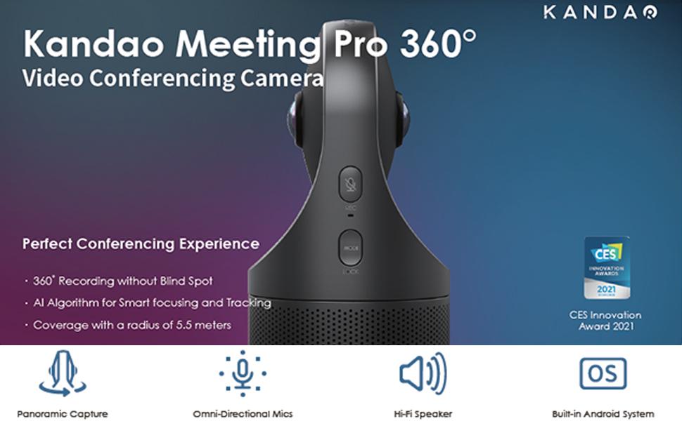 KanDao Meeting Pro 360 Video Conference Camera