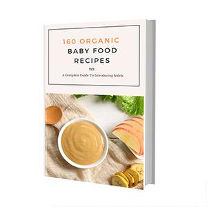 160 Organic baby food e book