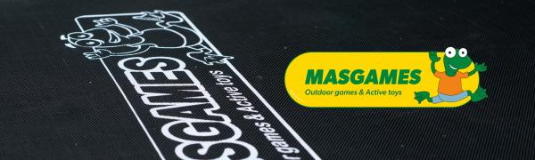 MASGAMES Cama elástica Deluxe 244 cm: Amazon.es: Juguetes y juegos