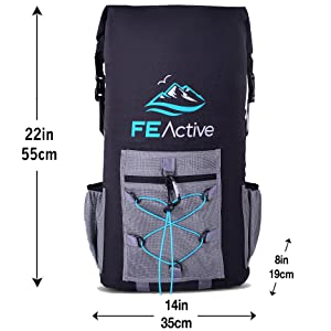 hiking backpack lunch bag fishing gear beach bag paddle board travel bag cooler bag dry bag insulate