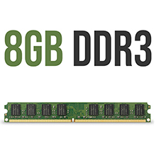 8GB DDR3 RAM core I5 Processor assembled desktop computer cpu pc personal full set desktops