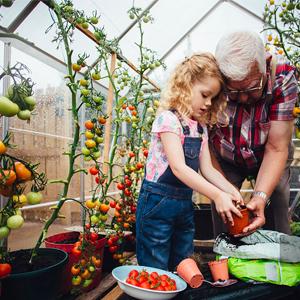 Gardening experience for children