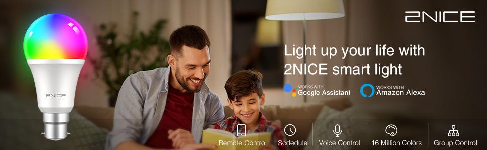wifi light bulb smart bulb alexa light bulbs smart light  bulbs smart bulbs that work with alexa